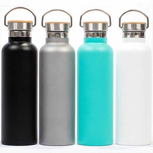 e3e7616813 Hand wash only to avoid change in color and spotting on finish. Vacuum  sealed double walled stainless steel is the best water bottle ...