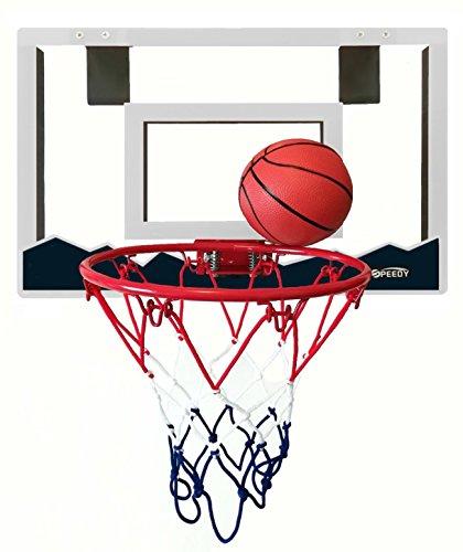 Speedy Mini Basketball Hoop With 18 X 12 Shatterproof